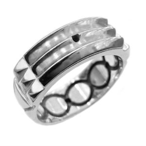 Atlantis ring Blackened Lines