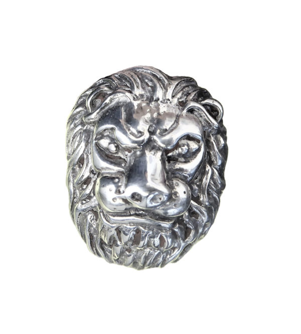 Ring men French Lion head