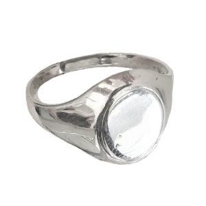 Signet ring unisex Oval 1412