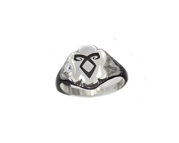Enkeli rune ring shield The Mortal Instruments