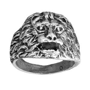 Ring men Lion head 1457