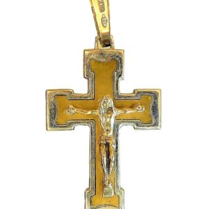Teutonic Cross crucefix catholic pendant