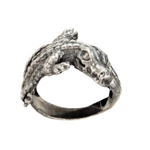 Ring men crocodile