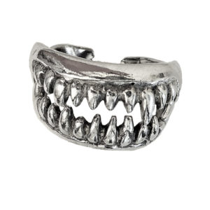 Biker ring men Vampires Jaws