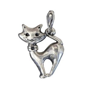 Pendant graceful kitty