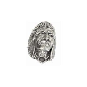 ring men Large Indian head 1574