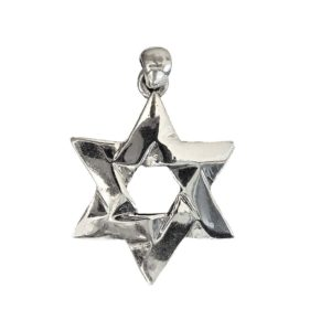 Magen David Pendant j2100 Judaica star