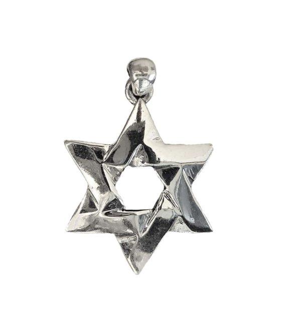 Magen David Pendant j2100 Judaica star