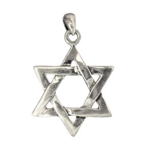 Magen David Pendant j2111 Judaica star