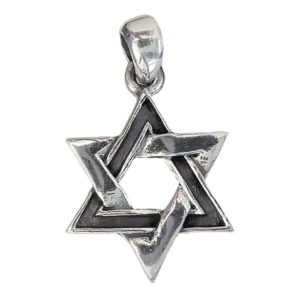 Magen David Pendant j2112b Judaica star