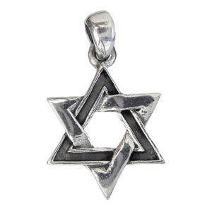 Magen David Pendant j2112b Judaica star
