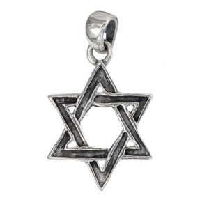 Magen David Pendant j2113a Judaica star