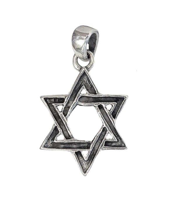 Magen David Pendant j2113a Judaica star