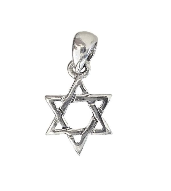Magen David Pendant j2106c Judaica star