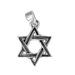 Magen David Pendant j2107b Judaica star