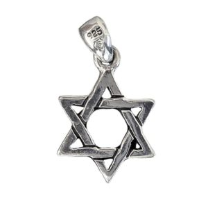 Magen David Pendant j2099b Judaica star