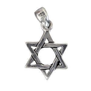 Magen David Pendant j2099b Judaica star
