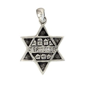 Magen David Pendant j2113b Judaica star