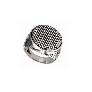 round signet ring men 1576 ornament
