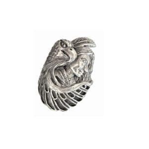 Indian eagle ring men 1571
