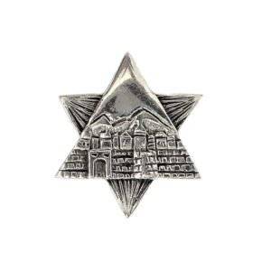 Magen David Pendant j2106a Judaica star