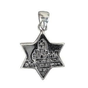 Magen David Pendant j2109 Judaica star
