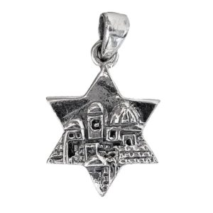 Magen David Pendant j2106b Judaica star