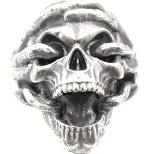 Ring men wedding skull 1462