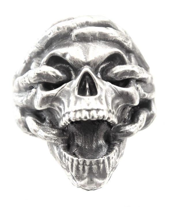 Ring men wedding skull 1462