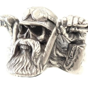 Ring men Biker Large sezes US8-US15