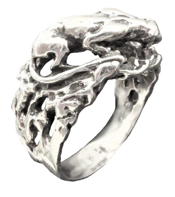 Ring men PUMA Ma10 sterling silver 925   Atlantis Gold