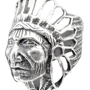 Ring men Old Indian head