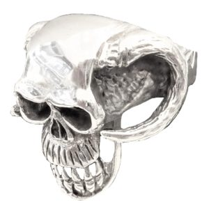 Ring men skull devil