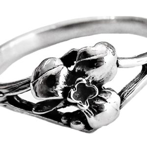 Ring Women Rose flower