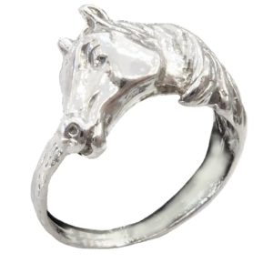 Ring Women Horses head