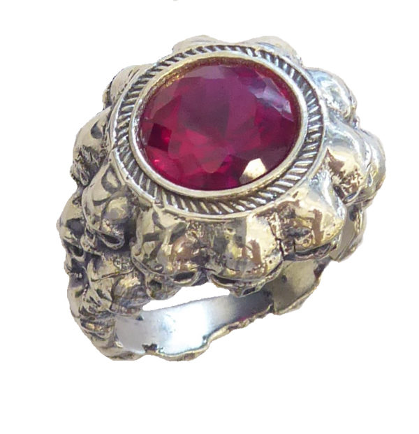 women Ring #1622a Ruby