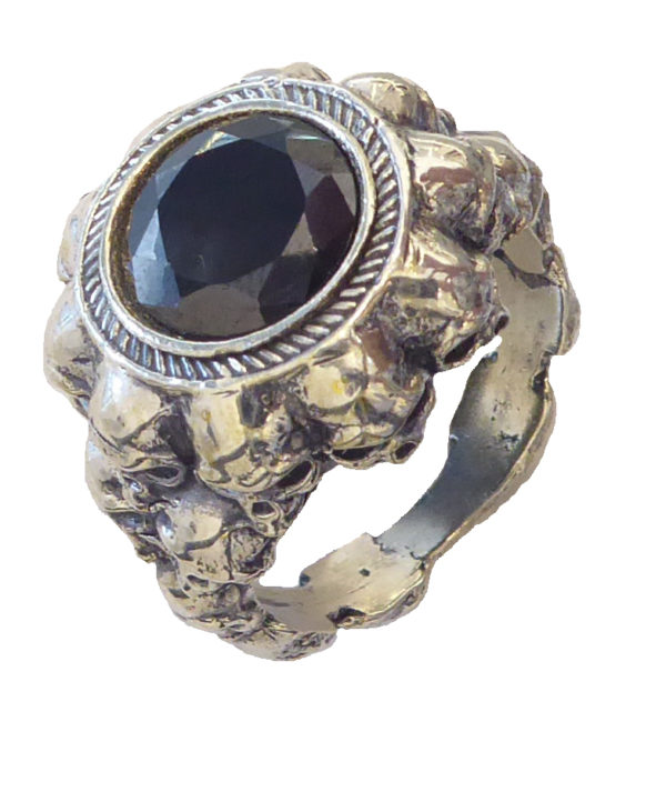 women Ring #1622a Onix