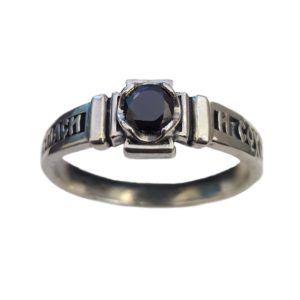 Band Ring Orthodox onyx