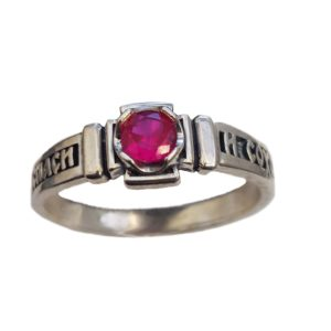 Band Ring Orthodox RUBY