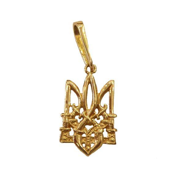 9acafb9e8a Ukrainian Gold Pendant Trident