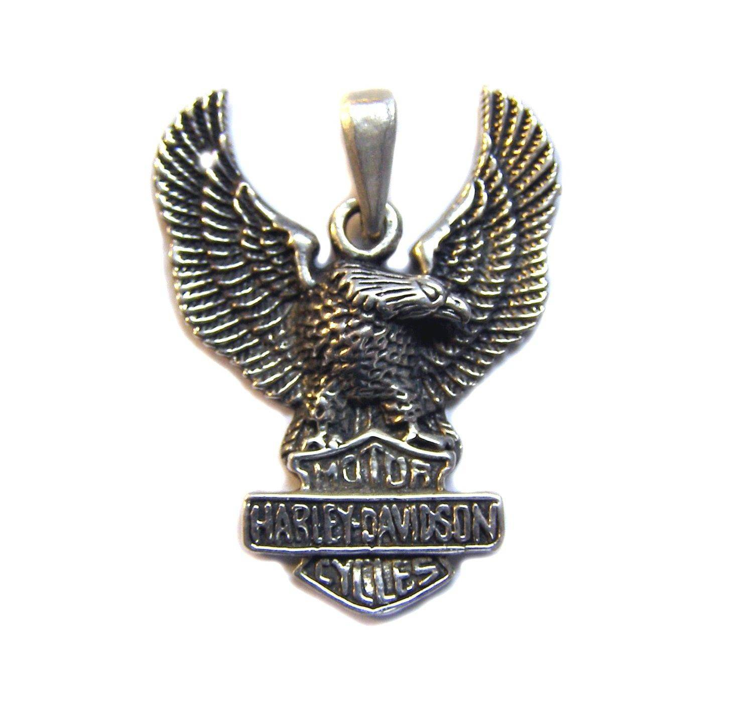pendant gothic sterling eagle product biker silver gold atlantis