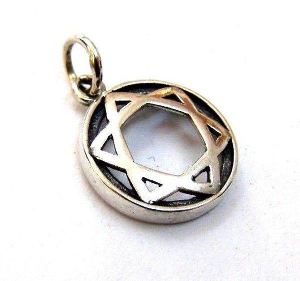 Jewish Star pendant #J2051A