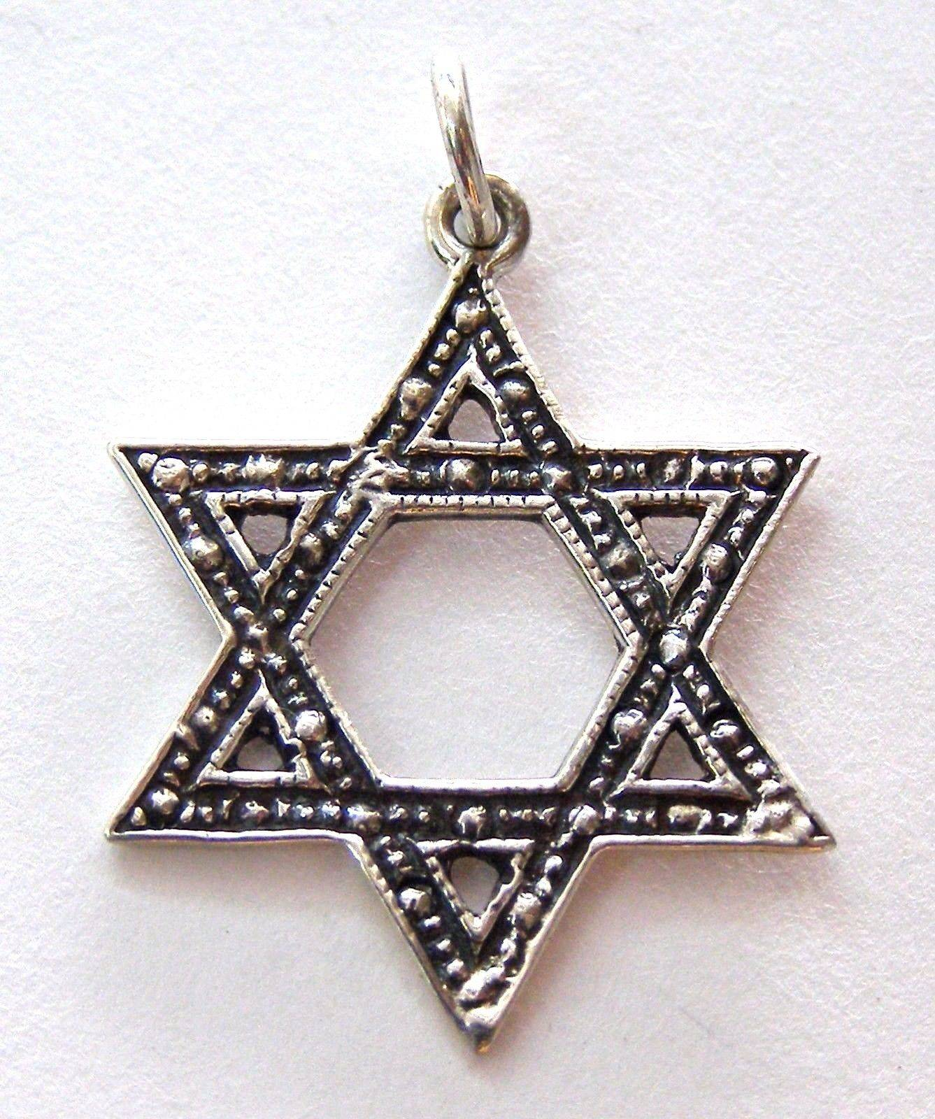 star gold from jewelry necklace hot cross color of israel plated steel item pendant david jewish magen women in men chain stainless necklaces