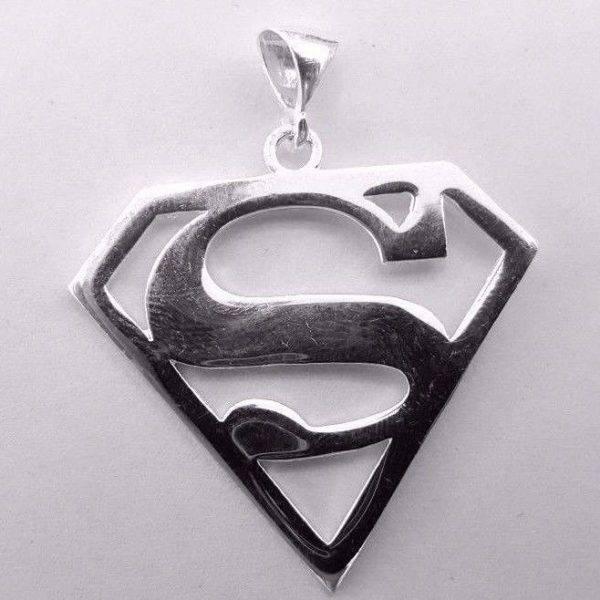 Brave Superman Sterling Silver 925 Atlantis Gold